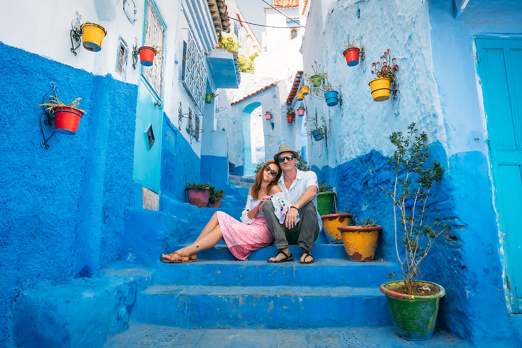 Chefchaouen Morocco Travel Guide  Mysterious Chefchaouen: The Blue Pearl Of Morocco chefchaouen matt anna XL