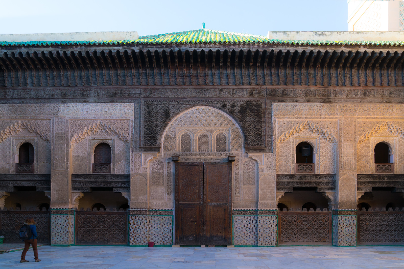 Ben Youssef Madrassa in Fez Morocco - cycling vacation and photography tour with Kevin Wenning