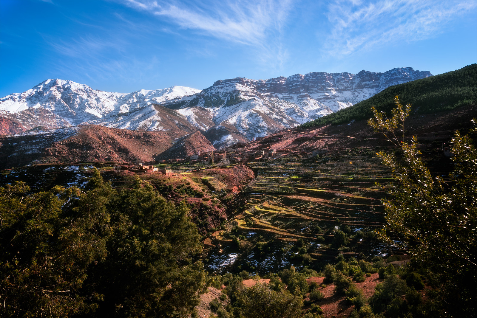 Sidi Fares in the High Atlas Mountains of Morocco - cycling vacation and photography tour with Kevin Wenning
