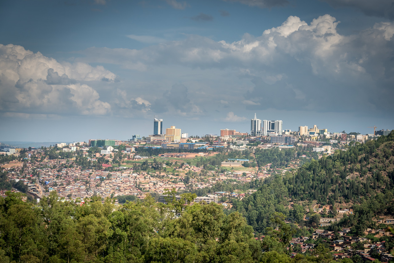 Kigali from Road North