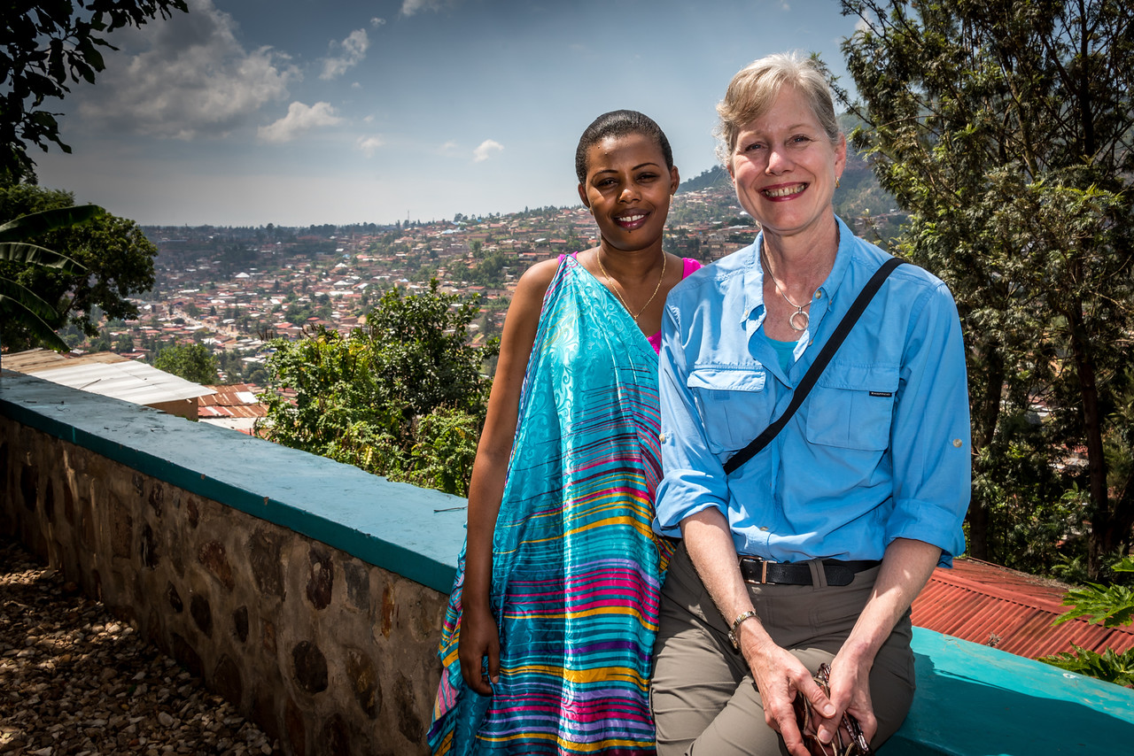 View of Kigali from Museum of Natural History