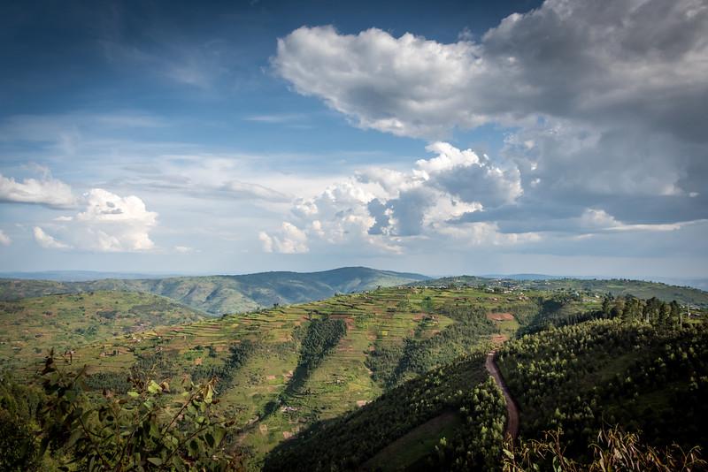 Road Return to Kigali