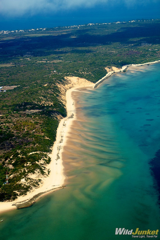 Vilanculos coastline