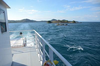 Leaving Likoma Island...