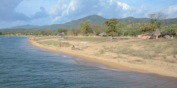 Little village of Cobue on Lake Malawi...
