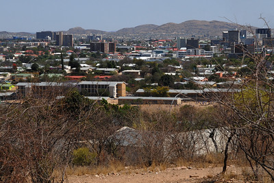 A view of Windhoek...