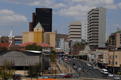 Downtown Windhoek...
