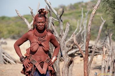 Himba Tribe / Village, Kunene River, North Namibia