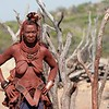 Himba Tribe / Village, Kunene River, North Namibia