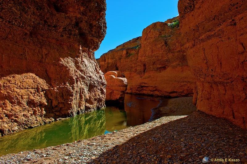 Desert River Canyon, Sossusvlie, Namib NP