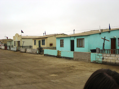 Namibia - The farm, the city and the flats