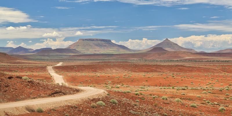 Roadways of Namibia