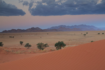 Namib Naukluft Park sunset