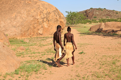 Damara man and woman