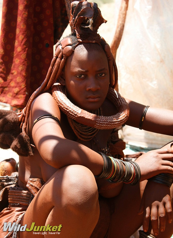 A Himba lady