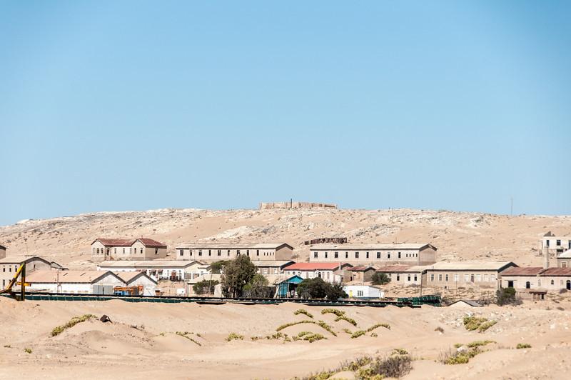 The former mining town of Kolmanskof in Luderitz, Namibia