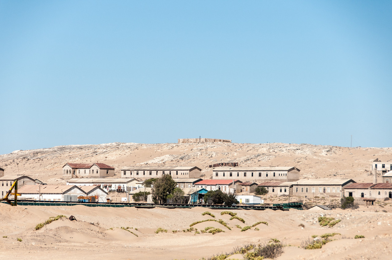 The former mining town of Kolmanskof in Luderitz, Namibia