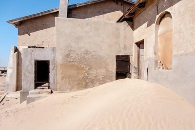 Abandoned mining town of Kolmanskopf in Luderitz, Namibia