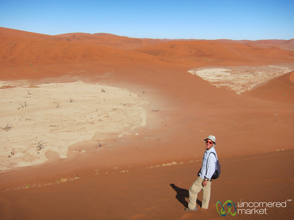 Dan at Big Daddy Dune - Namibia