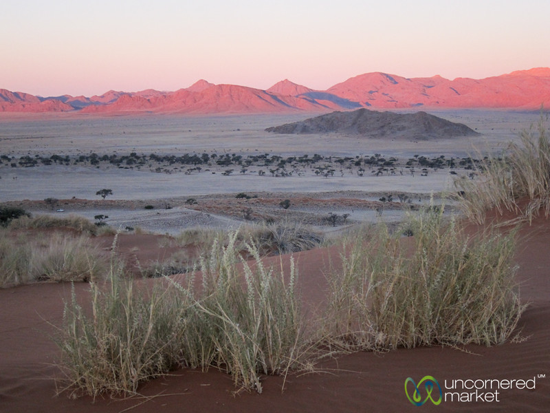 Red Rocks at Sunset - Namib Desert, Namibia