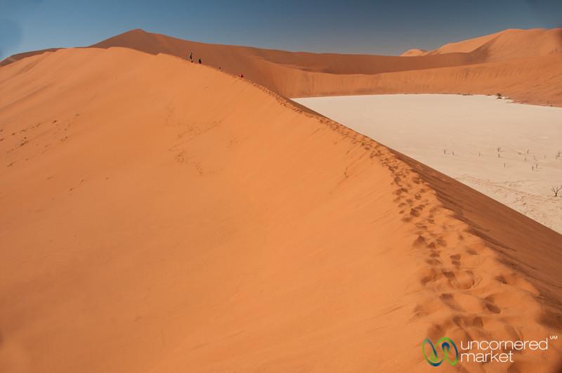 Big Daddy Dune in the Namib Desert - Namibia