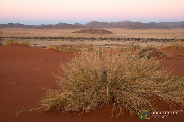 Namib Desert Colors at Dusk - South Namibia