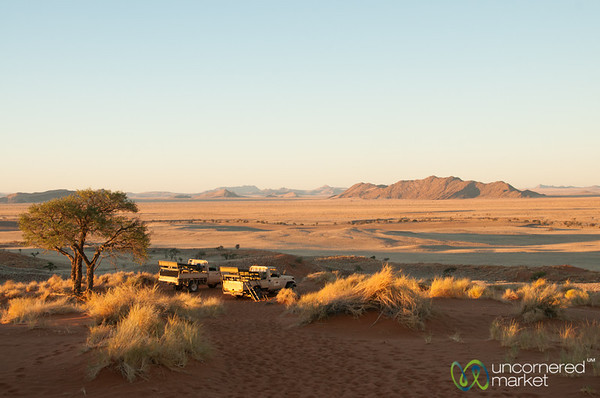 Sundowner at Namib Desert Lodge - Namibia