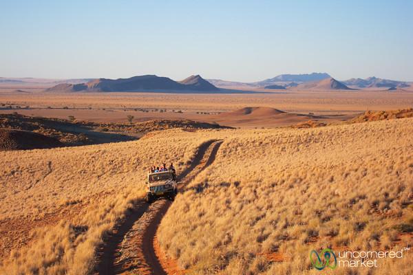 Sundowner at Namib Desert Lodge - Namibia