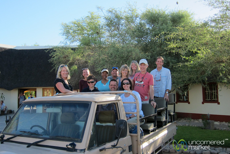 Our ATTA South Namibia Group - Namib Desert Lodge, Namibia