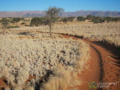 Driving Through Namib Desert Lodge - Namibia