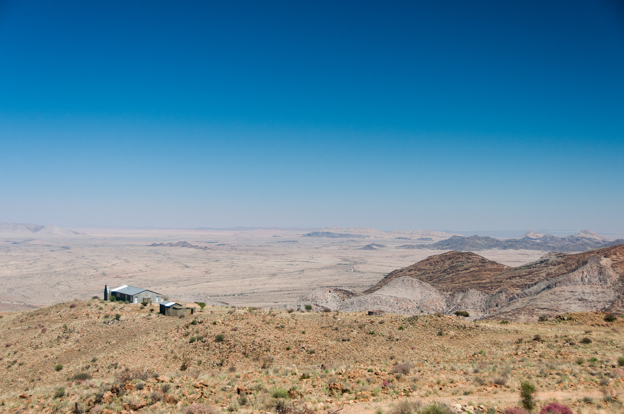 Overlooking view of the Namib Desert