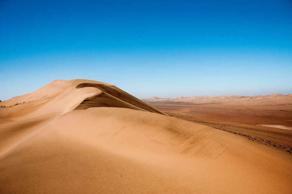 Massive Sand Dune in the Namib Desert