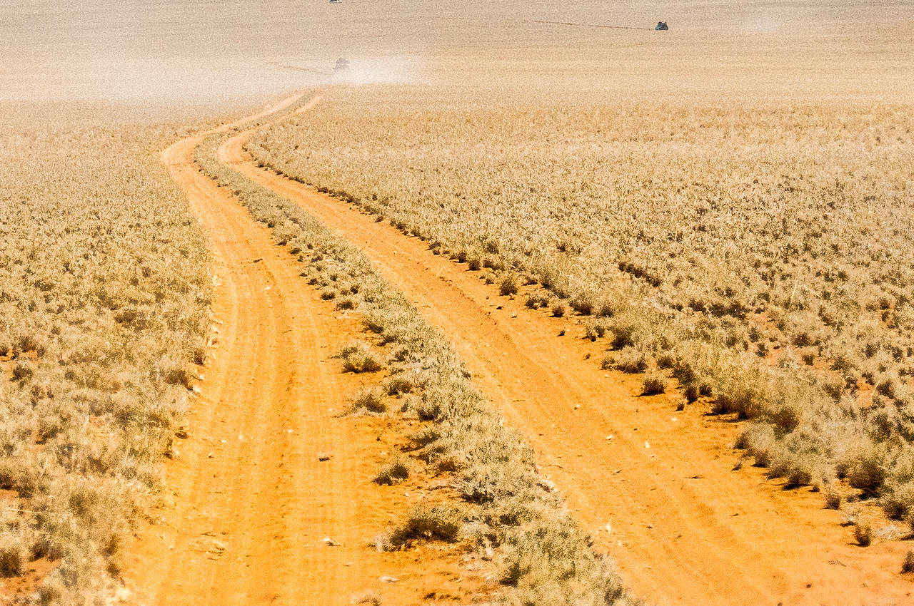 Driving to the Namib Desert
