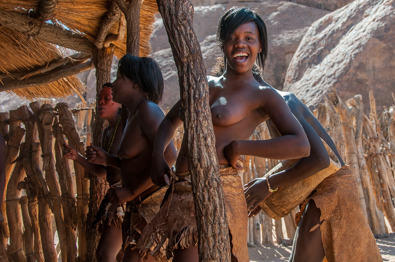 Local females in Namibia