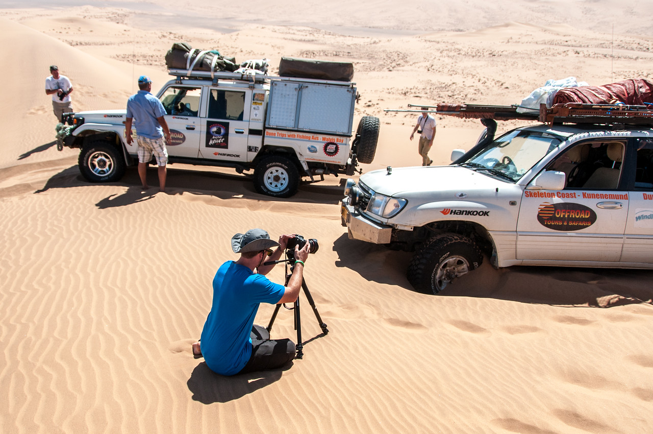 Photographers at Namib Desert