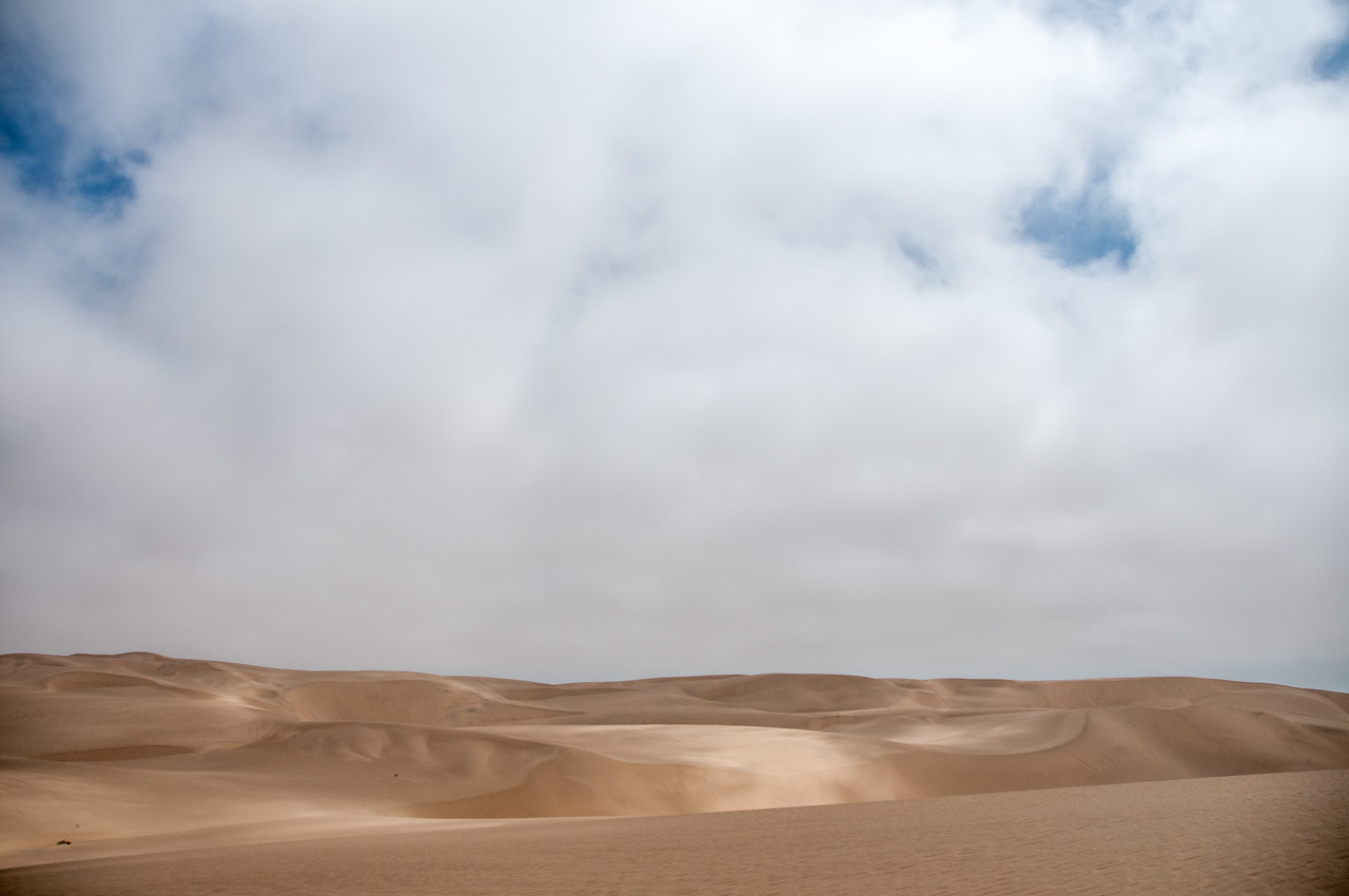 Sand dunes at Namib Desert