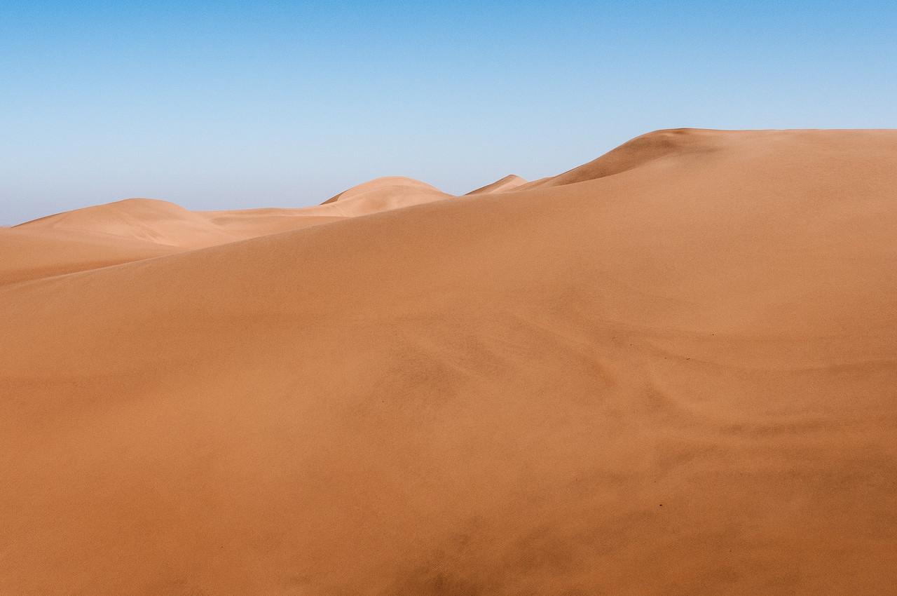 Sand dunes of Namib Desert