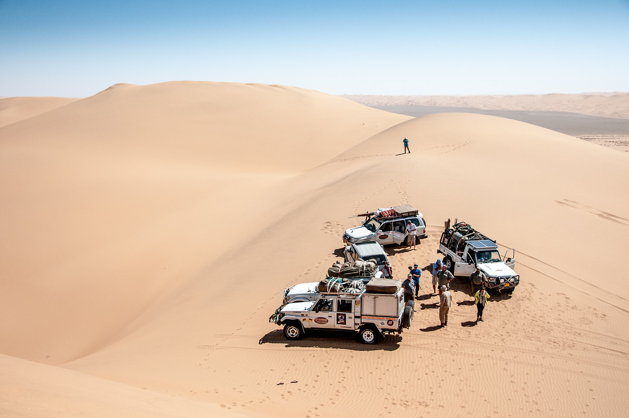 Sand dunes at Namib Desert, Namibia