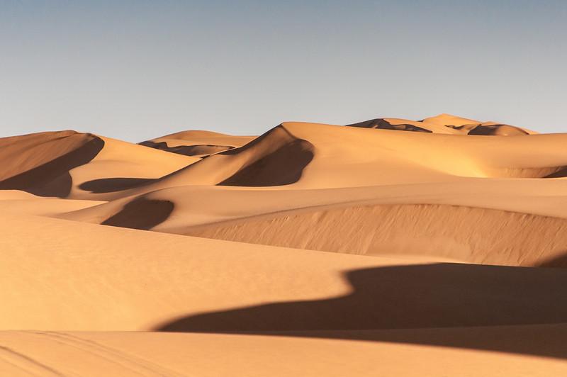 Dunes of the Namib desert in Namibia