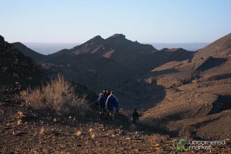 Hiking Near Fish River Canyon - Namibia