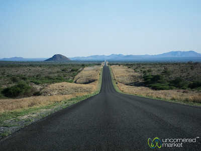 Namibia Roads, Heading out of Windhoek