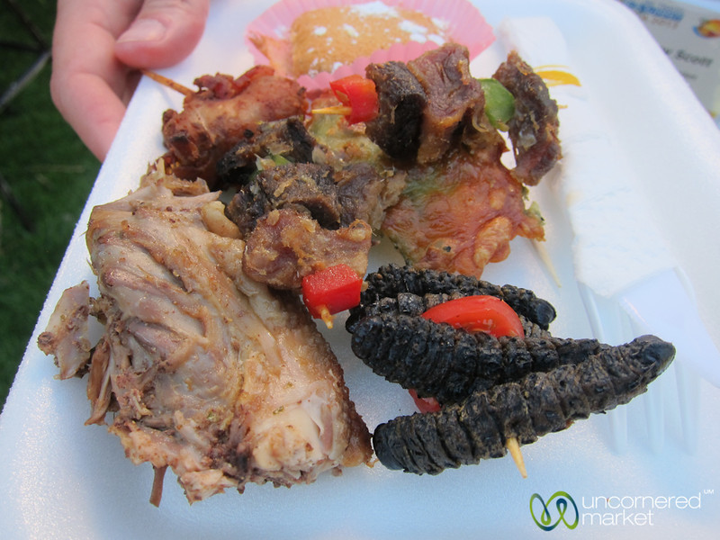 Namibian Foods, Mopani Worms and All - Windhoek, Namibia