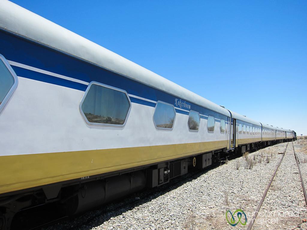 Desert Express Train, Windhoek to Swakupmond - Namibia