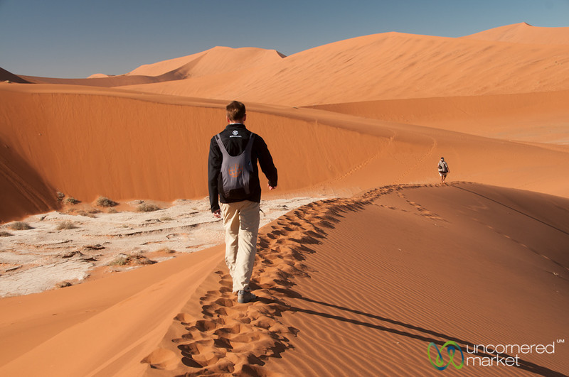 Dan Goes Volcano Climbing - Namib Desert, Namibia