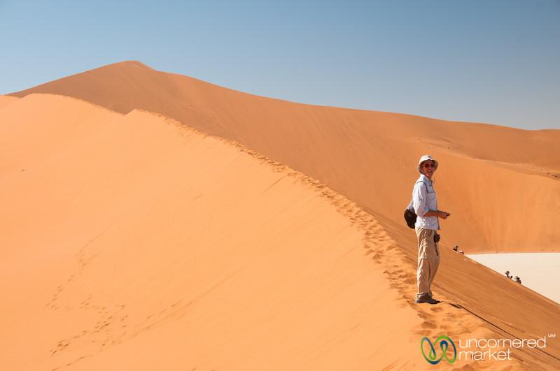 Dan at Big Daddy Dune - Namibia