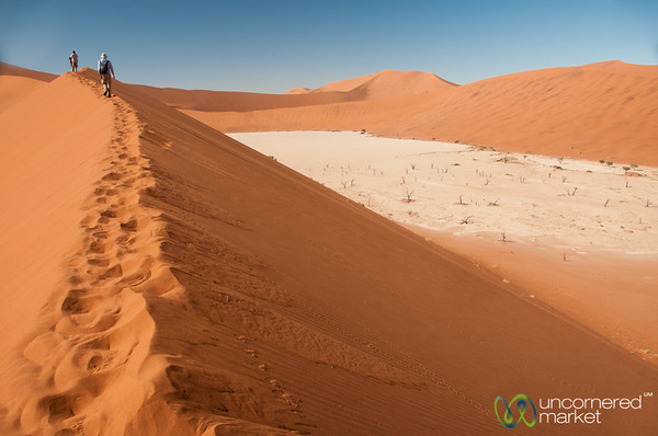 Dune Climbing in the Namib Desert - Namibia