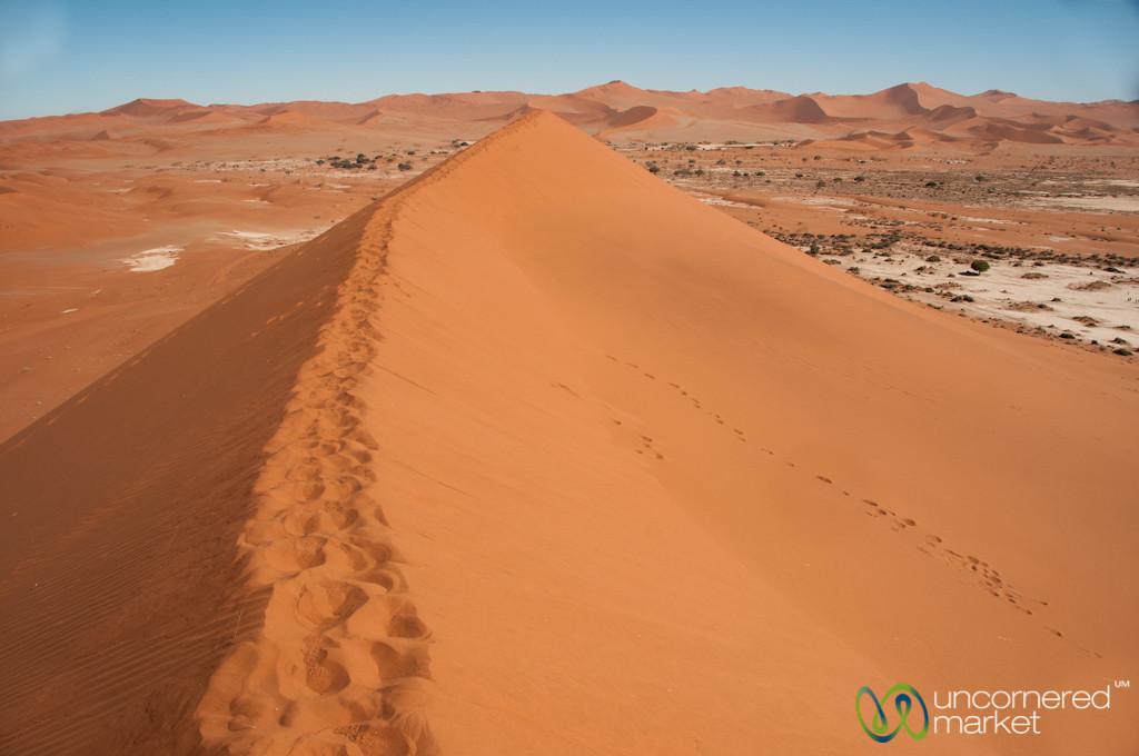 Namib Desert Views from atop Big Daddy Dune - Namibia
