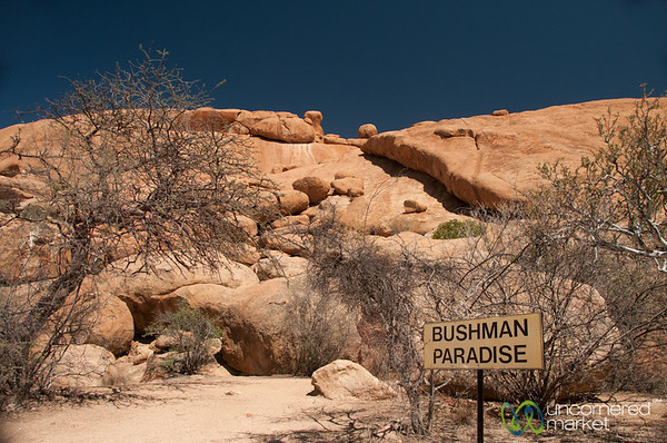 Bushman Paradise, Home of Cave Paintings - Spitzkoppe, Namibia