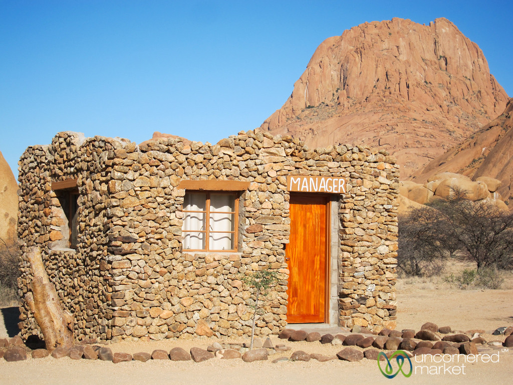 Cute Manager's House at Spitzkoppe - Namibia