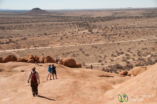 Bushman Paradise, Walking Down - Spitzkoppe, Namibia